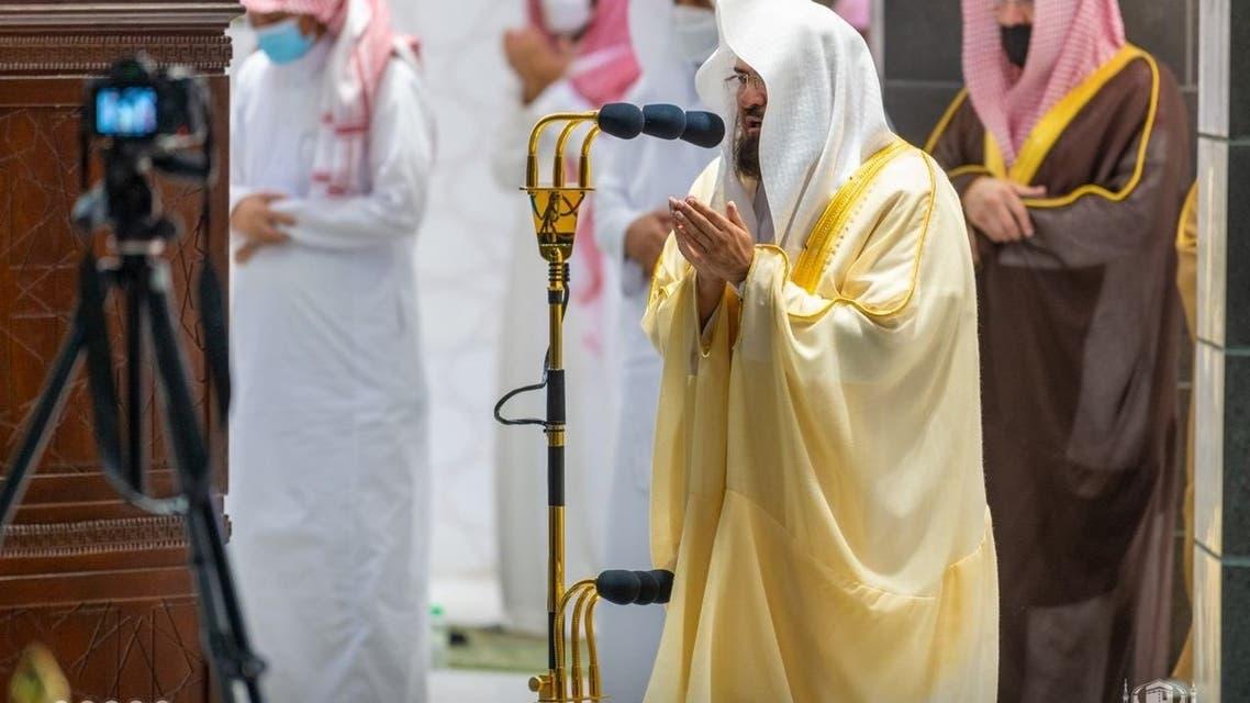 الدكتور السديس في ختم القرآن