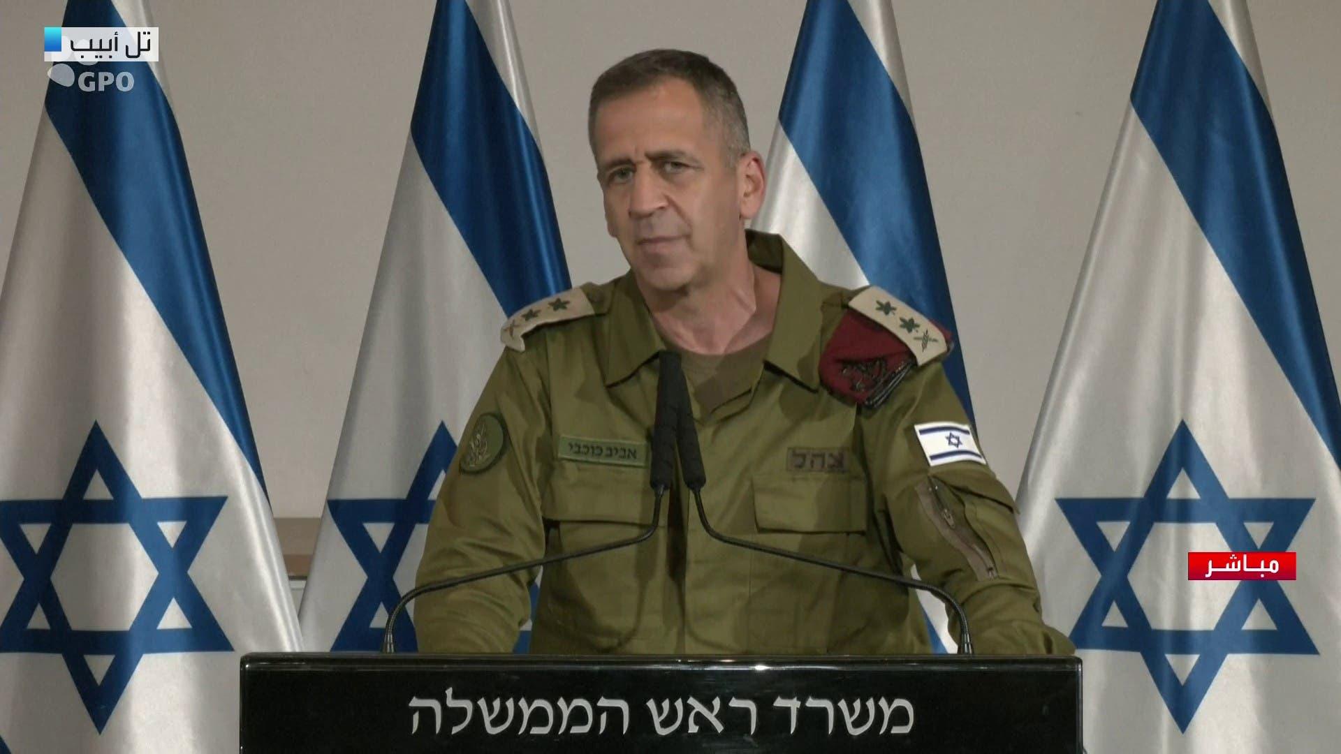 آویو کوچاوی رئيس ستاد ارتش اسرائیل