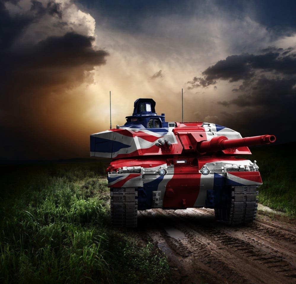الدبابة تشالنجر 3