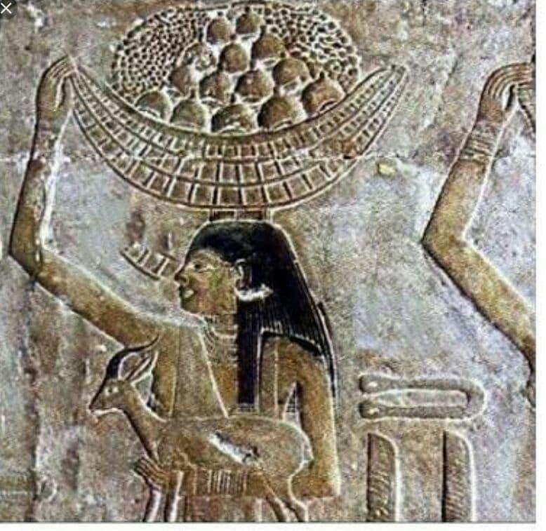 كعك العيد على جدران المعبد الفرعونية