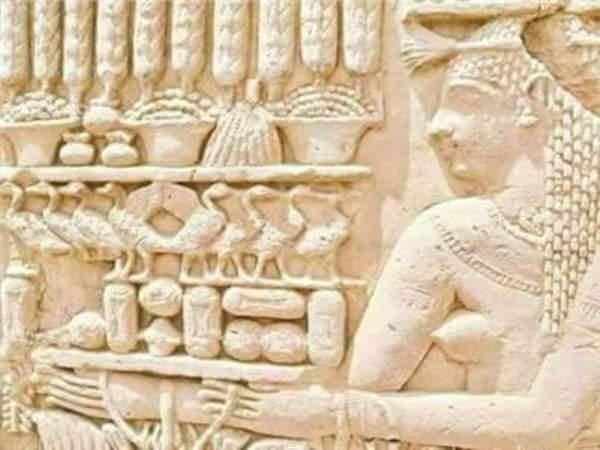 كعك العيد على جدران المعابد الفرعونية