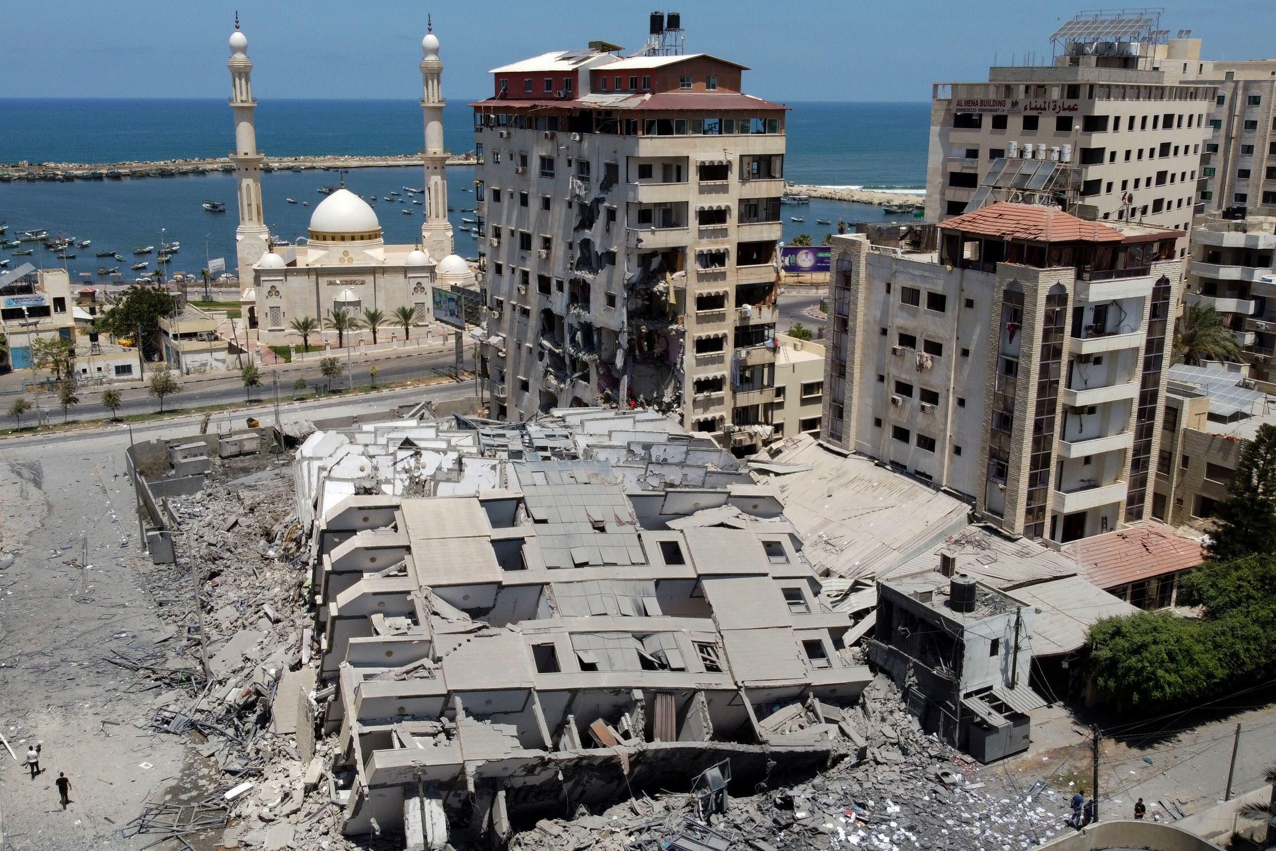 غزه در جنگ اخیر
