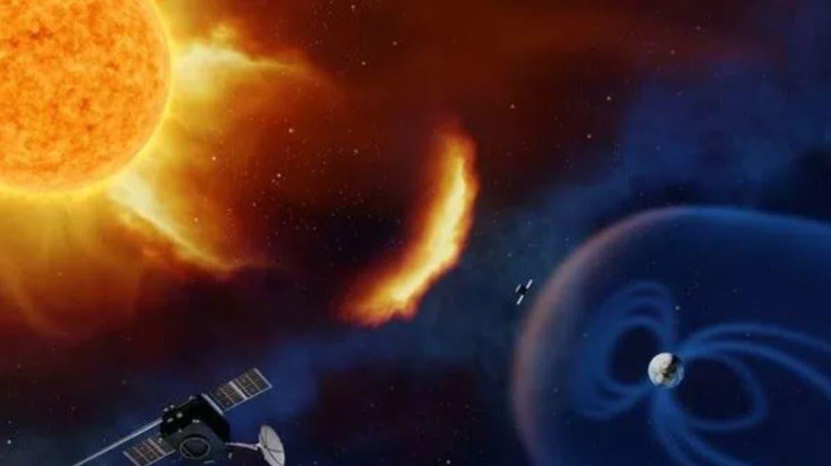 سرعتها 1.3 مليون كم/س.. عاصفة شمسية تضرب الأرض اليوم