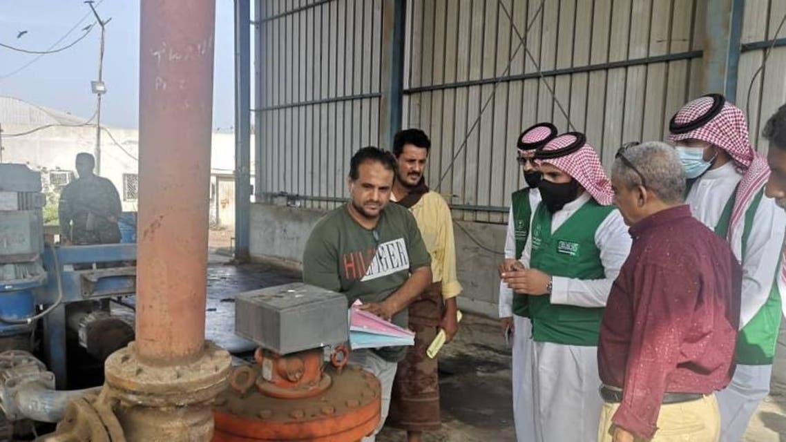 أعمال توزيع منحة المشتقات النفطية السعودية 1