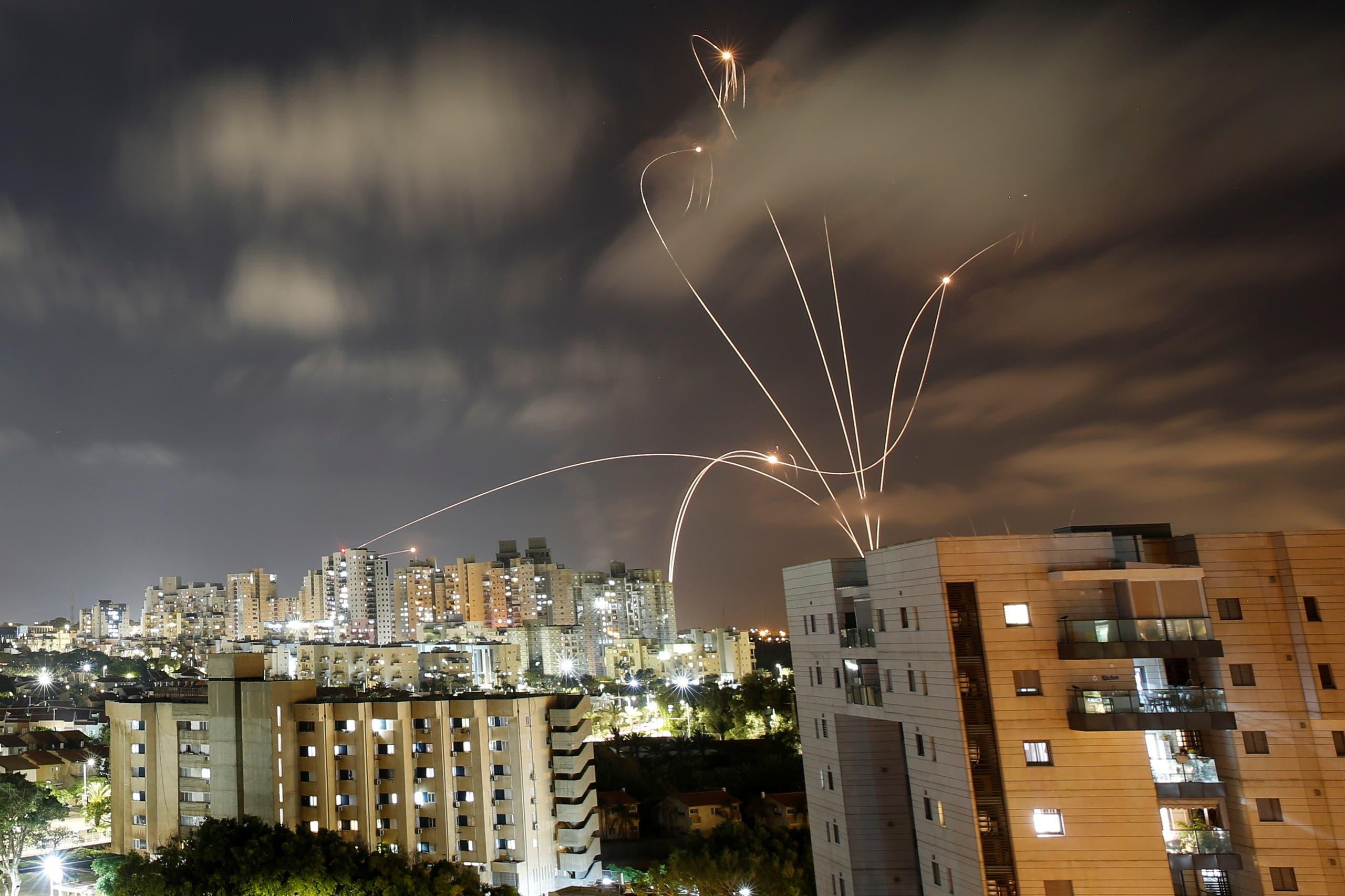 جنگ موشکی بین اسرائیل و غزه