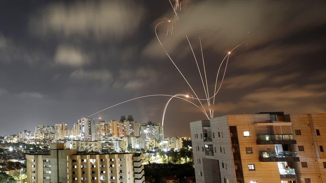 حرب الصواريخ بين غزة وإسرائيل (رويترز)