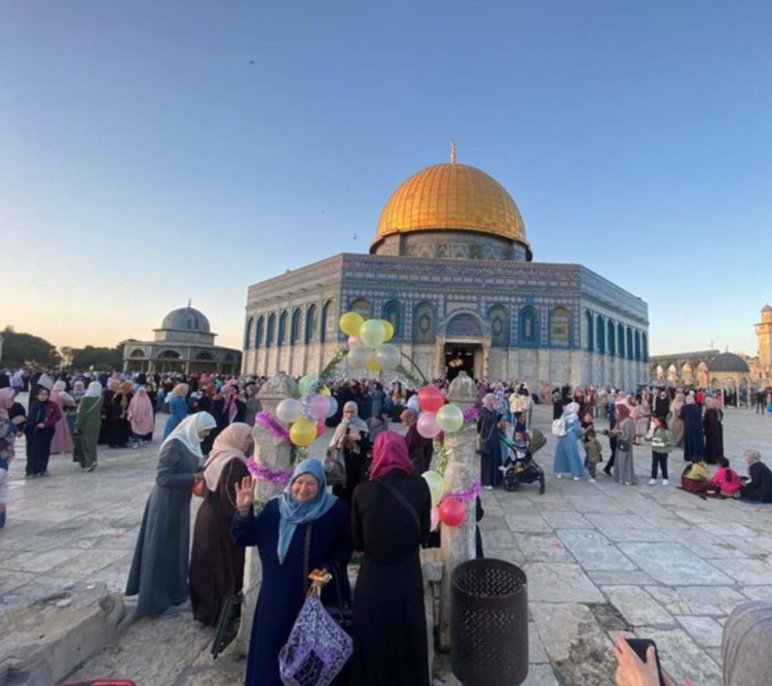 صلاة العيد في الأقصى