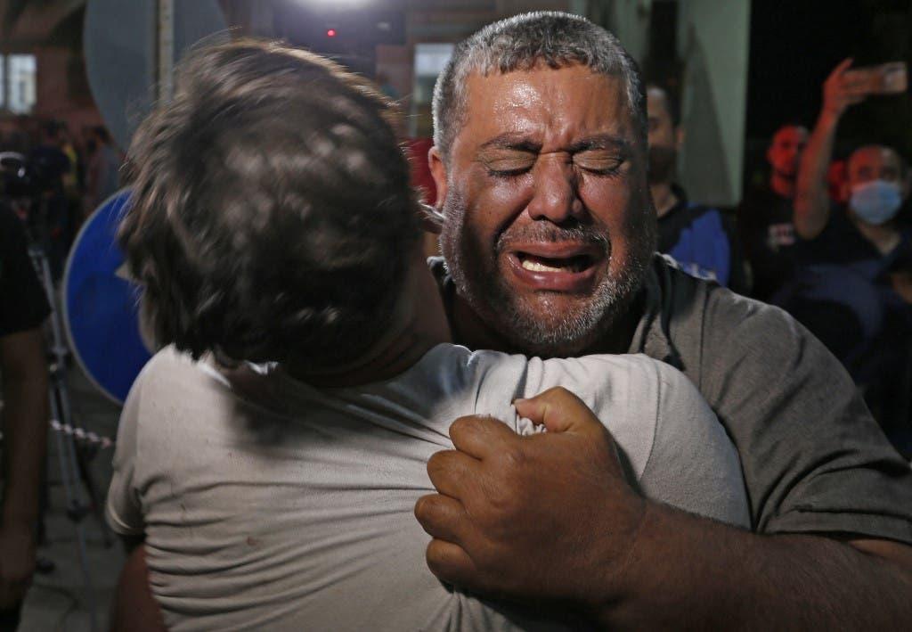 تشييع وبكاء في غزة (فرانس برس)