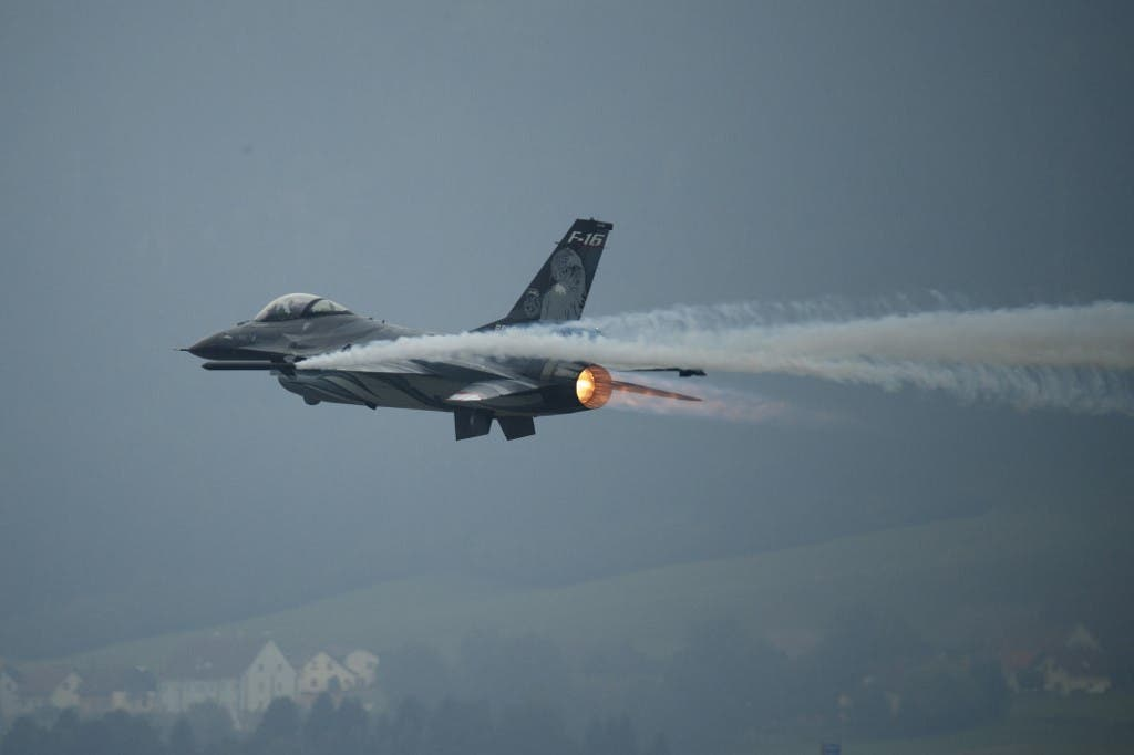 طائرة F16 من لوكهيد مارتن - أرشيفية فرانس برس