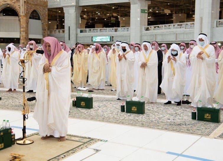 صلاة العيد بالمسجد الحرم