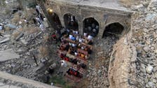 داعش کے ہاتھوں تباہ موصل کی تاریخی مسجد ایک بار پھر نمازیوں سے آباد