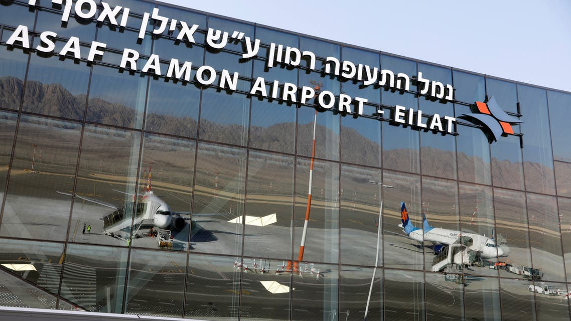 Planes are reflected in the facade of the Ramon International Airport after an inauguration ceremony for the new airport, just outside the southern Red Sea resort city of Eilat, Israel January 21, 2019. (File photo: Reuters)