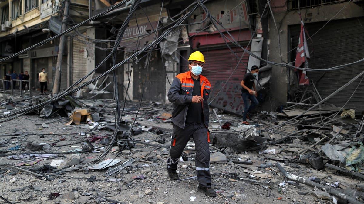 حشد إسرائيلي عند حدود غزة.. وتدمير مبانٍ لداخلية حماس