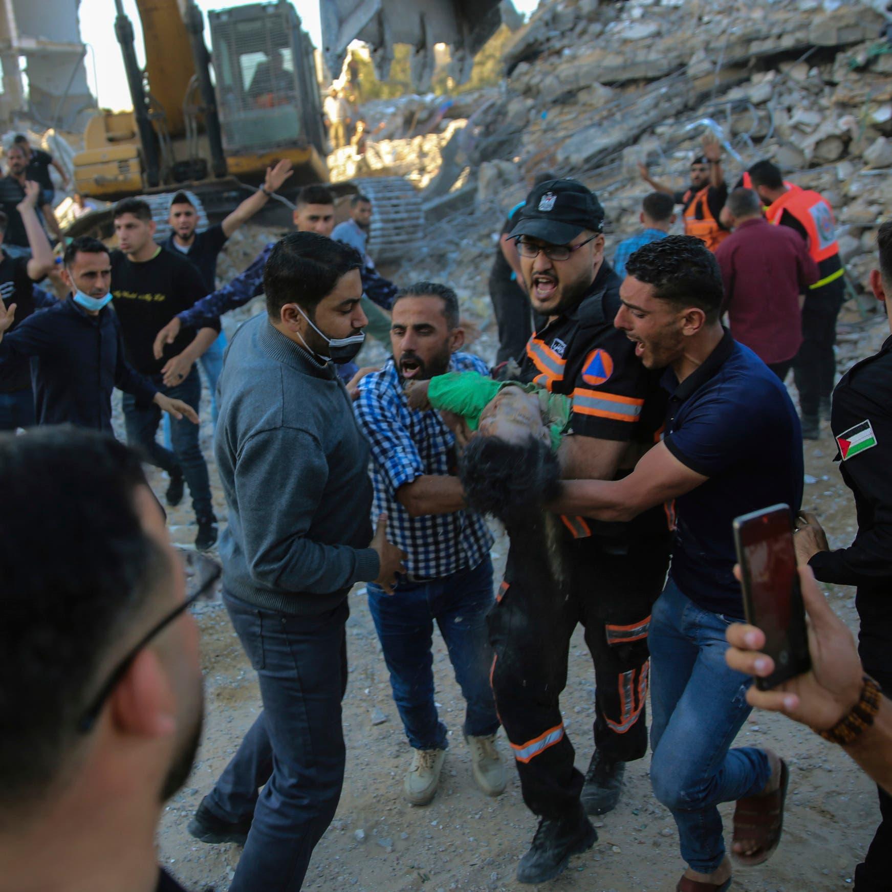 Gaza hospitals already struggling with COVID-19 now treating injured