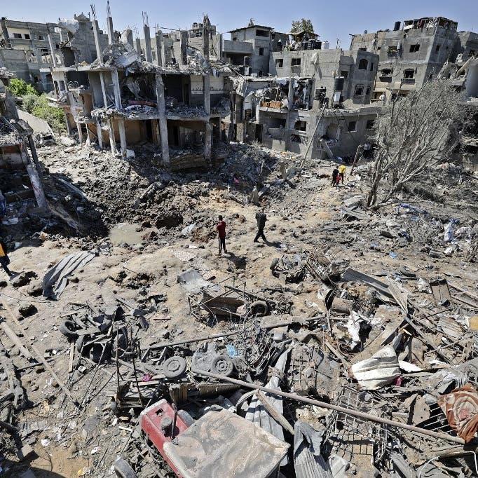 122 قتيلاً في غزة.. وإسرائيل ترسل مزيداً من التعزيزات