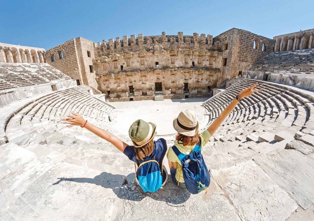 موقع سياحي في اليونان