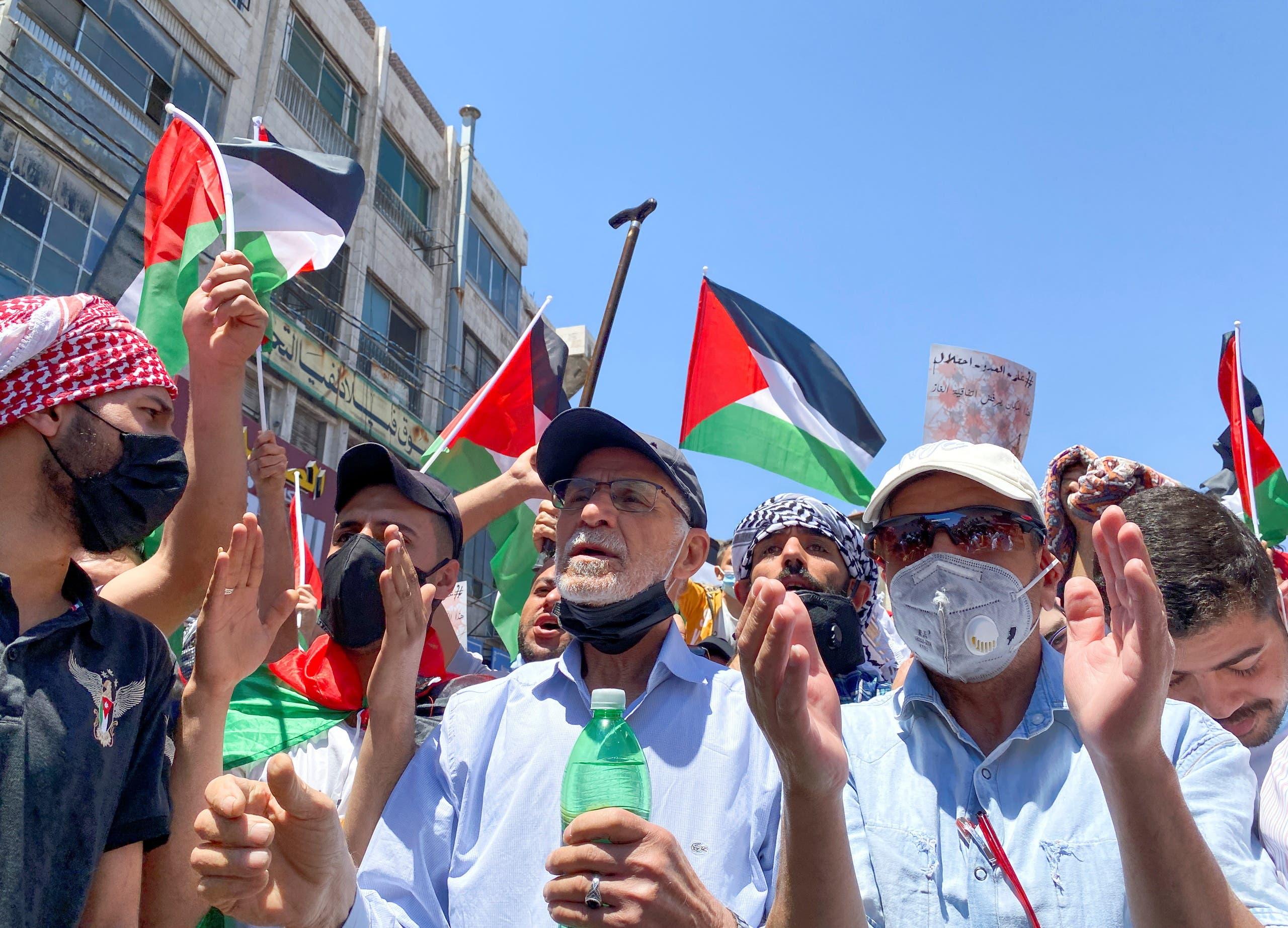 تظاهرات در امان اردن
