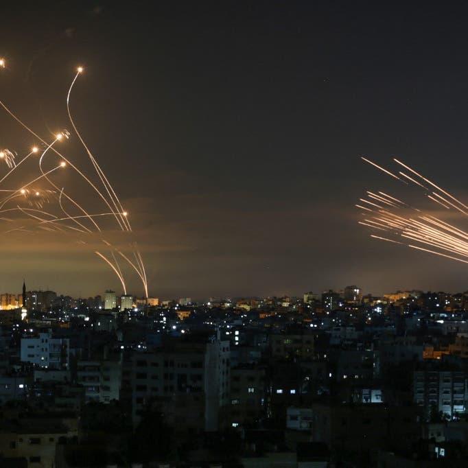قتلى وجرحى بغارات على غزة.. وحريق ضخم في ميناء أسدود