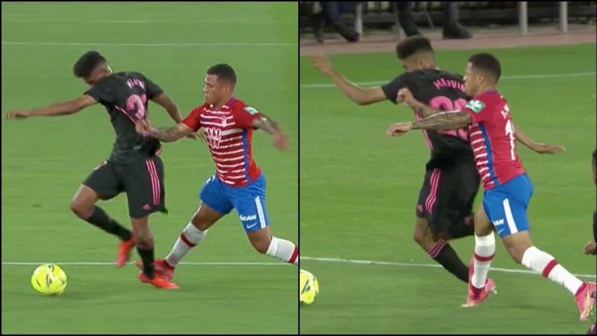 صورة مؤلمة.. شاهد إصابة لاعب ريال مدريد