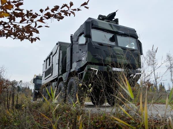 جيل جديد من شاحنات عسكرية تكتيكية.. بمواصفات مميزة