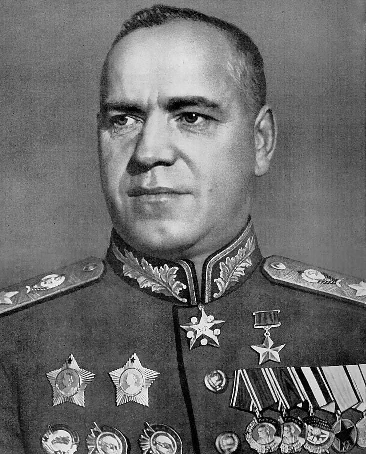 صورة للمارشال السوفيتي جوكوف