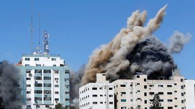 الجيش الإسرائيلي: برج الجلاء كان يأوي مخابرات حماس