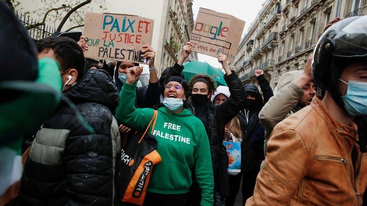 Palestine march in Paris defies ban, is met by tear gas