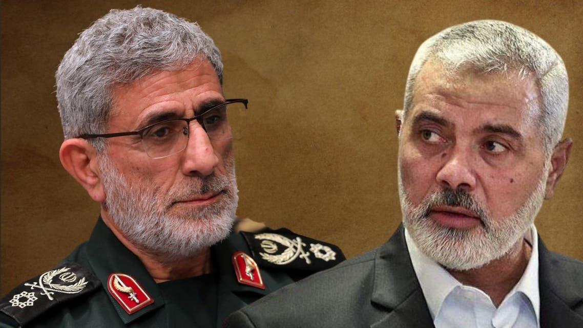 رئيس حركة حماس وقائد فيلق القدس