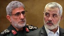 ایرانی القدس ملیشیا کے سربراہ اسماعیل قآنی کا حماس کے سربراہ کو فون