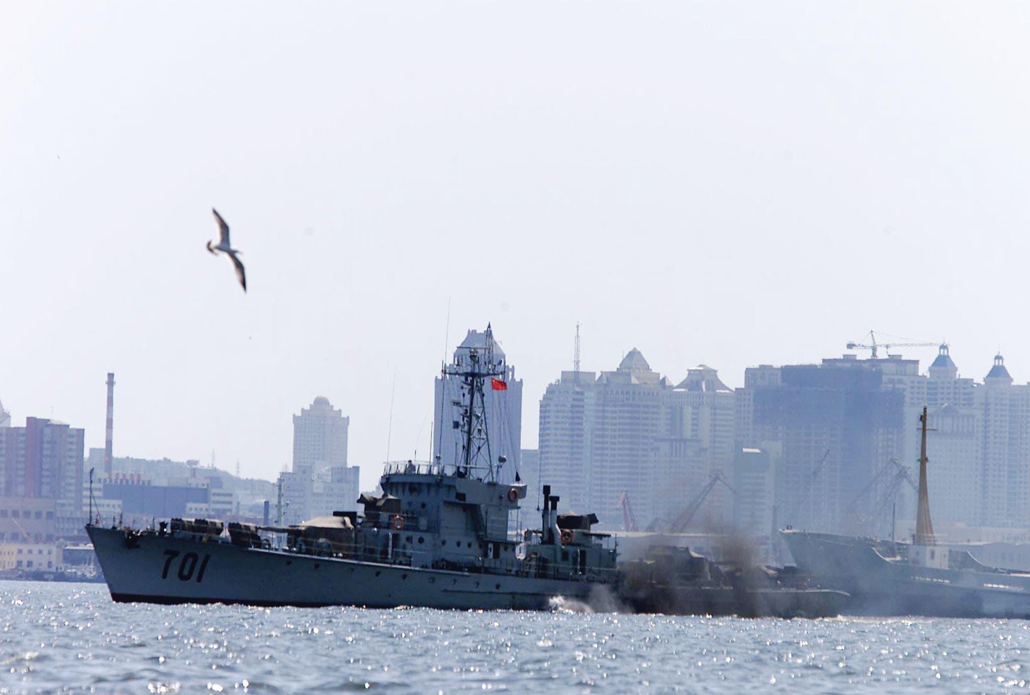 حاملة طائرات صينية (رويترز)
