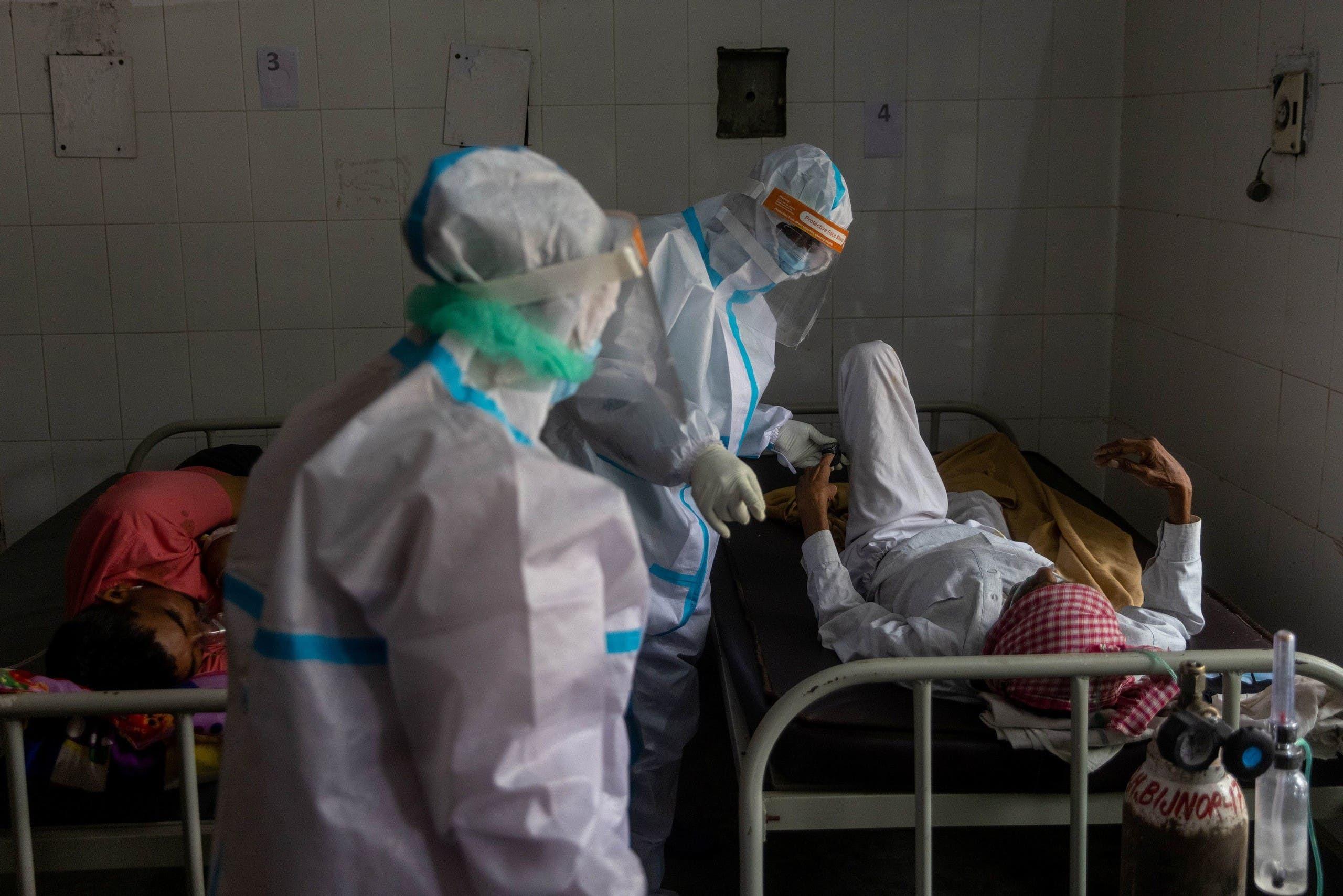 من مستشفى في الهند (رويترز)
