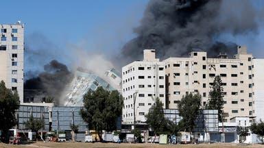 إسرائيل تدمر ثاني أكبر برج في غزة