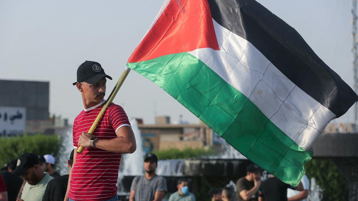 من مظاهرات بغداد (فرانس برس)