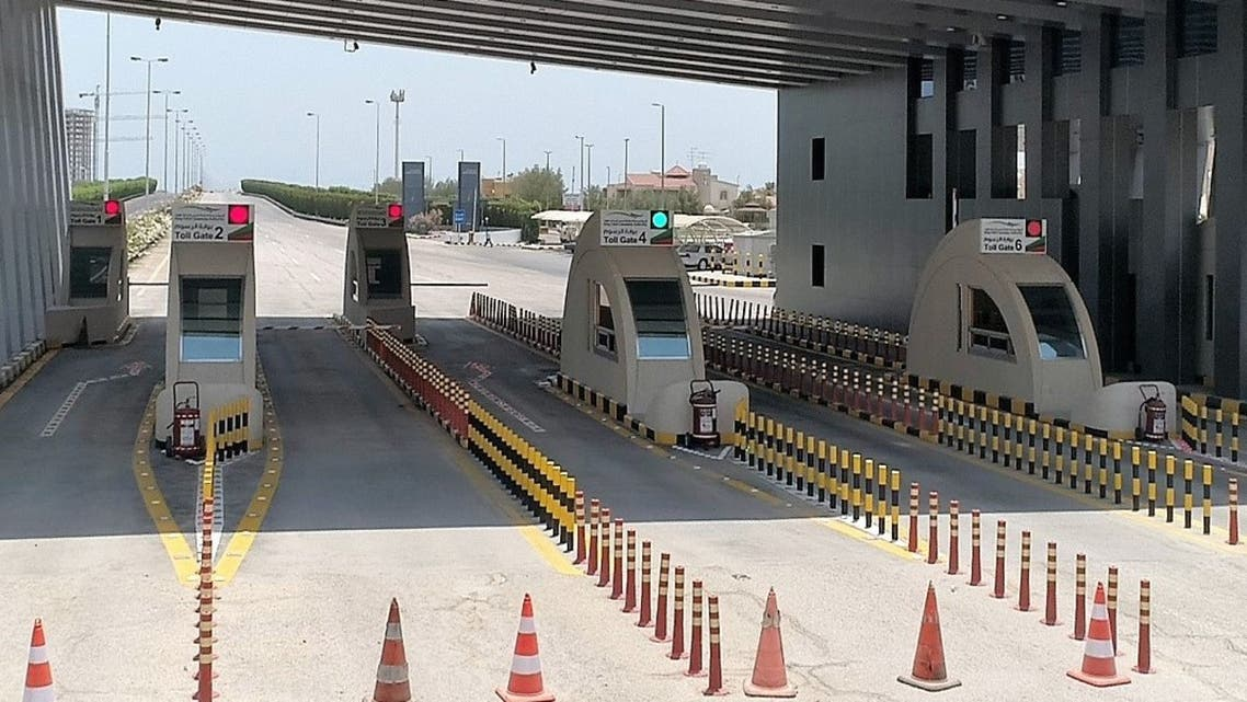 مدخل جسر الملك فهد بعد التطوير