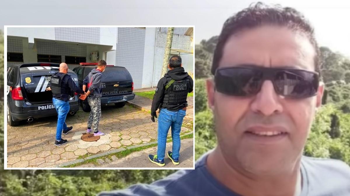 فيديو لاعتقال 2 من 3 برازيليين تكاتفوا على مصري وقتلوه
