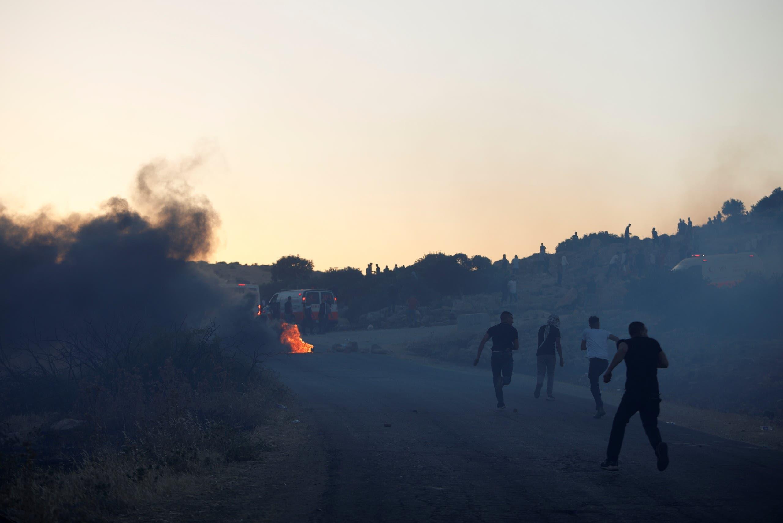 احتجاجات في الضفة على التصعيد في غزة