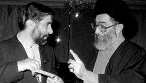خامنئي ومير حسين موسوي