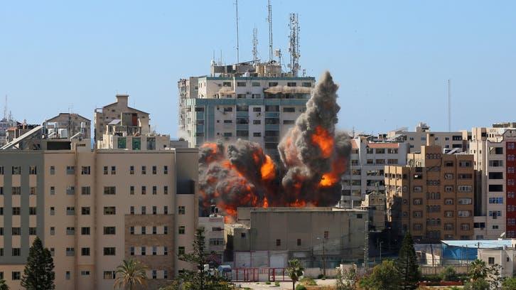 US, UAE top diplomats discuss efforts to end violence between Palestine, Israel