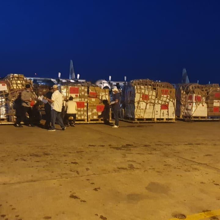 بتوجيه من ملك المغرب.. طائرات مساعدات إلى غزة
