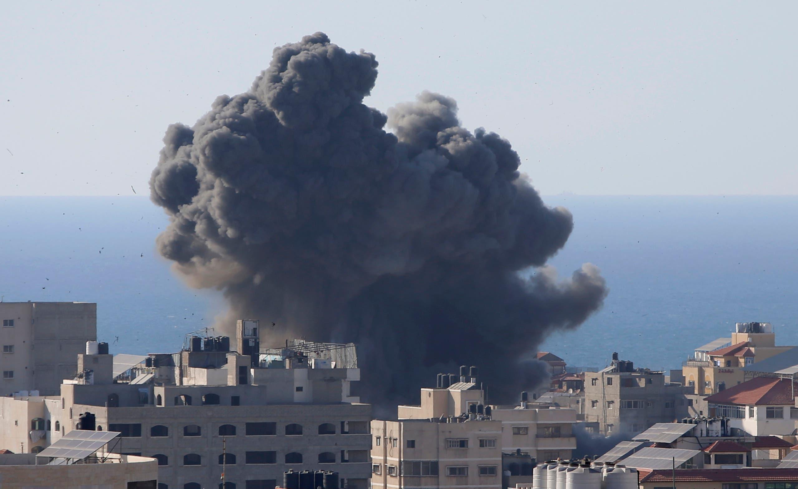 غارات إسرائيلية في غزة