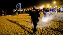 Police move revelers off streets as Barcelona parties after COVID-19 lockdown easing