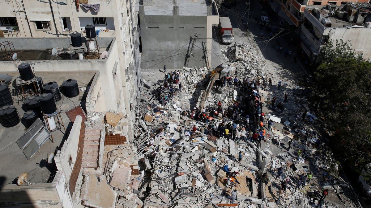 حصيلة ضحايا غزة ترتفع.. والفصائل تطلق أكثر من 3 ألاف صاروخ على إسرائيل