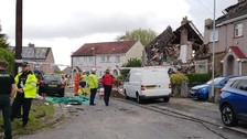 Child dies, four adults injured in Northern England house collapse