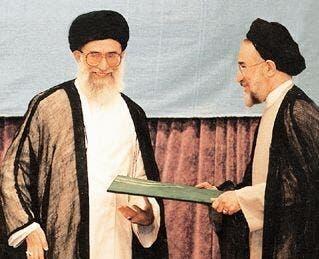 محمد خاتمي وخامنئي