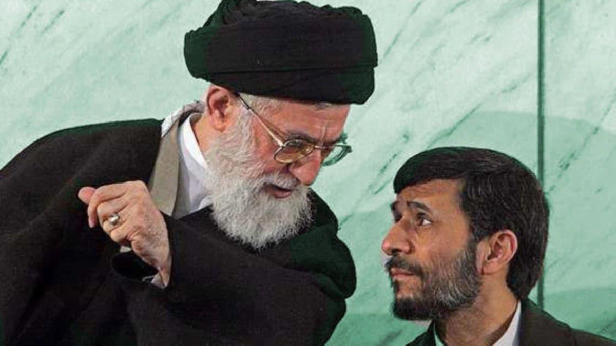 أحمدي نجاد وخامنئي