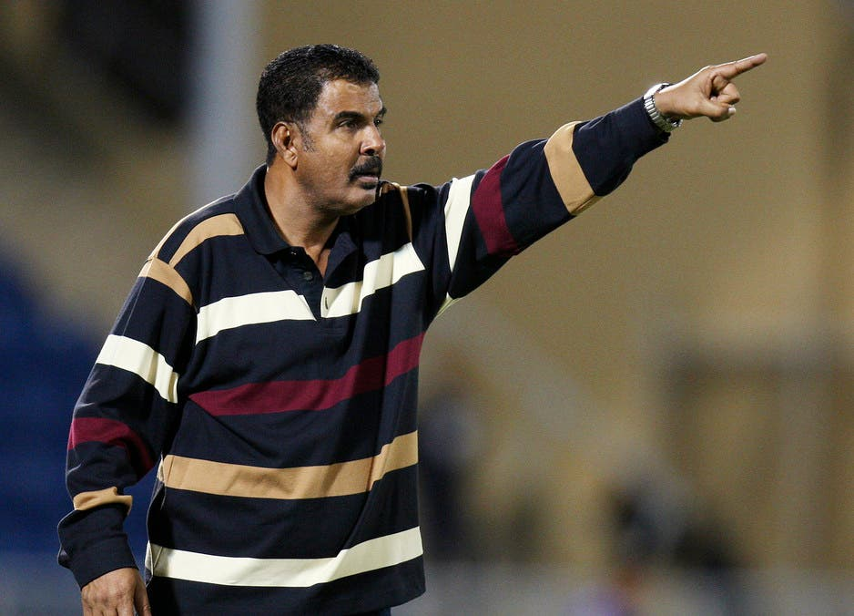 Yemen national team coach Sami Al-Naash gestures during their Gulf Cup soccer match against Qatar in Muscat January 11, 2009. (Reuters)