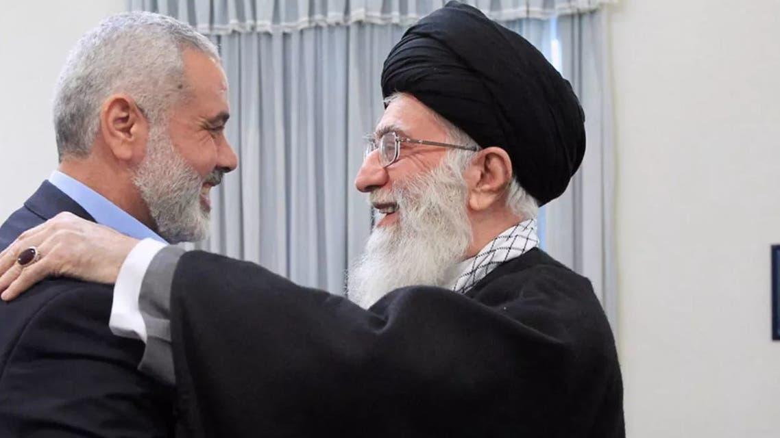 ismail haniyeh and khamenei