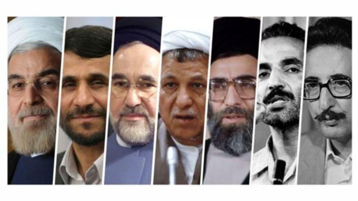 كافة رؤساء إيران صورة رئيسية