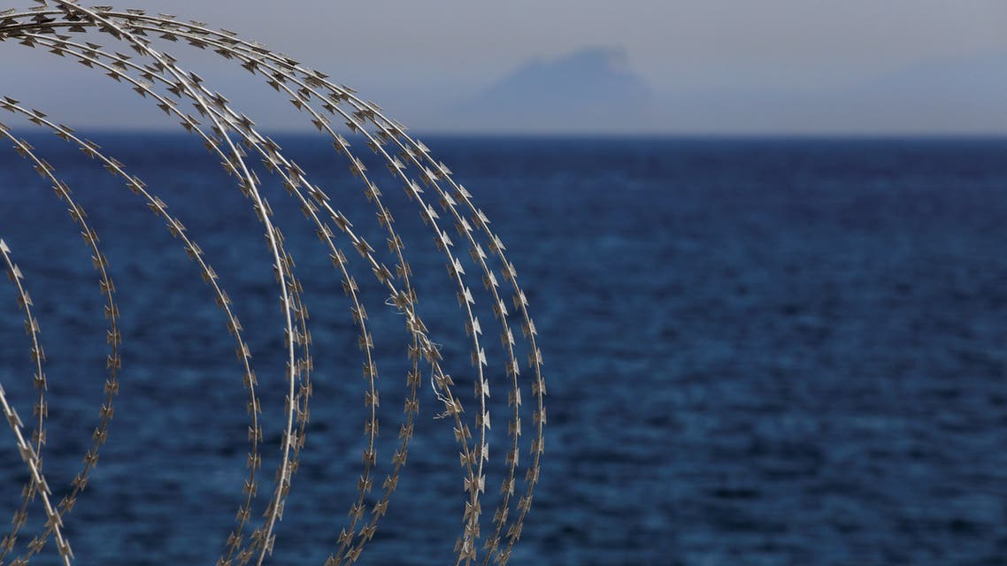 The border fence separating Spain's northern enclave Ceuta and Morocco is seen from Ceuta, Spain, June 22, 2018. (Reuters)