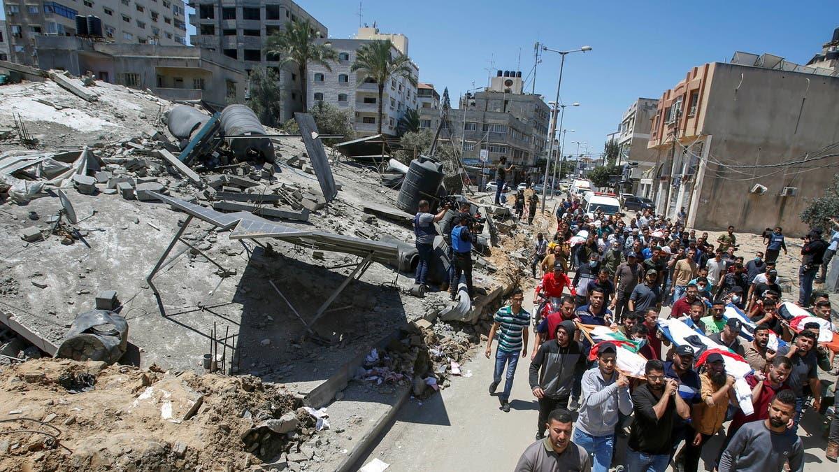 وفد مصري إلى إسرائيل.. واجتماع أوروبي لوقف القتال